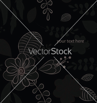 Free abstract floral background vector - Free vector #253677