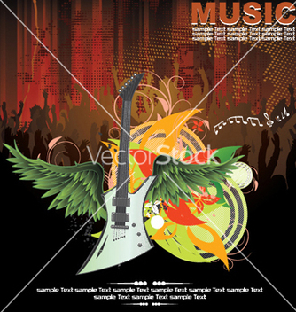 Free concert poster vector - Free vector #253997