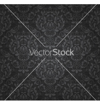 Free damask seamless pattern vector - Kostenloses vector #254187