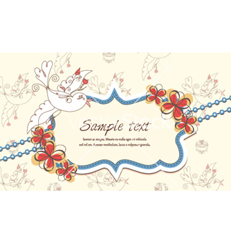 Free colorful spring frame vector - Free vector #254297