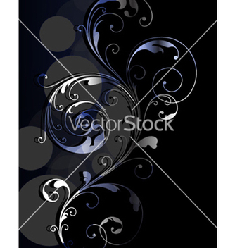 Free abstract floral background vector - Kostenloses vector #254397