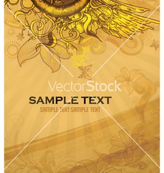 Free vintage background vector - Free vector #254417