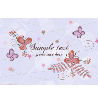 Free spring floral background vector - Free vector #254487