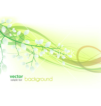 Free spring floral background vector - Free vector #254657