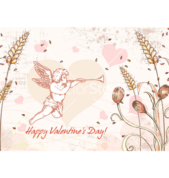 Free valentines day background vector - Kostenloses vector #254737