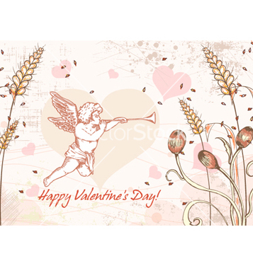Free valentines day background vector - Free vector #254737