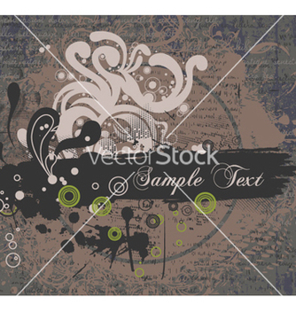 Free vintage background vector - Kostenloses vector #254887