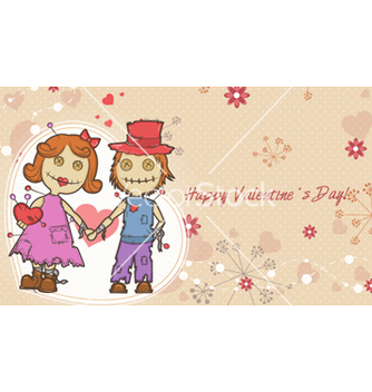 Free valentines day background vector - Kostenloses vector #255317