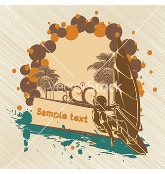 Free summer background vector - Free vector #255627