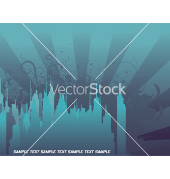 Free urban background vector - Free vector #255797