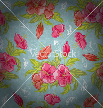 Free colorful floral pattern vector - Free vector #256457