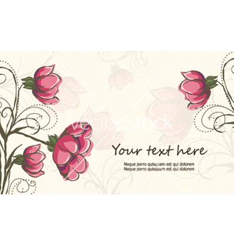Free colorful floral background vector - Kostenloses vector #256477