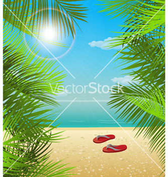 Free summer background vector - Free vector #256877