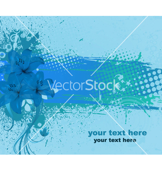 Free colorful floral background vector - Kostenloses vector #256897