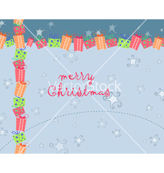 Free winter background vector - Free vector #256907