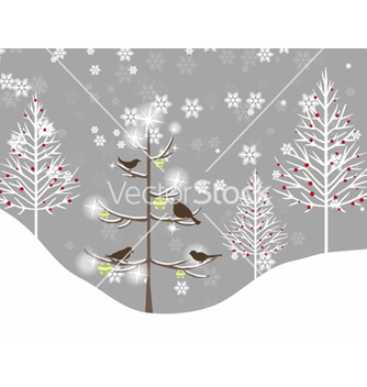 Free christmas background vector - Free vector #257327