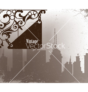 Free wrought iron sign vector - Free vector #257367