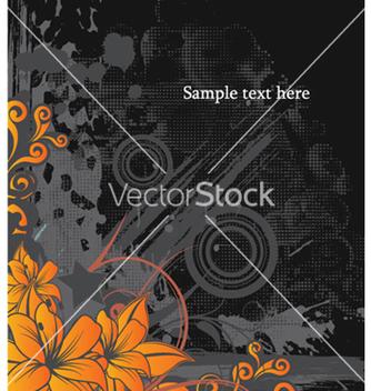 Free vintage floral background vector - Free vector #257577