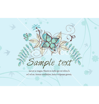 Free spring floral background vector - Free vector #257767