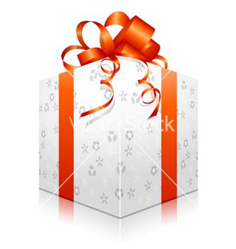Free gift box vector - Kostenloses vector #257847