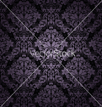 Free damask seamless pattern vector - Kostenloses vector #258017