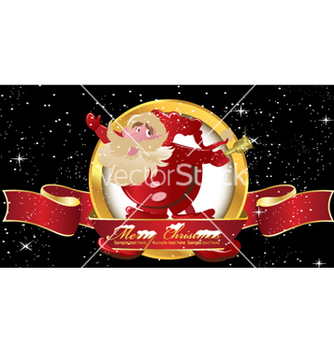 Free christmas label vector - Free vector #258107