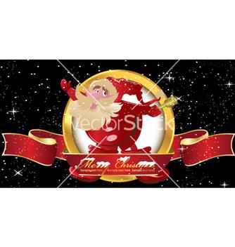 Free christmas label vector - Kostenloses vector #258107