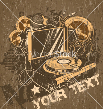 Free concert poster vector - Free vector #258417