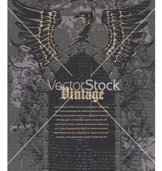 Free vintage background vector - Free vector #258427