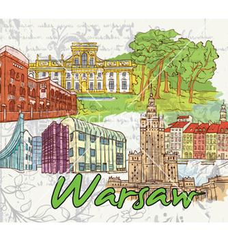 Free warsaw doodles vector - Free vector #258577
