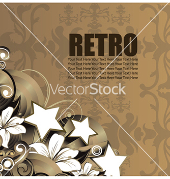 Free retro background vector - vector gratuit #258907
