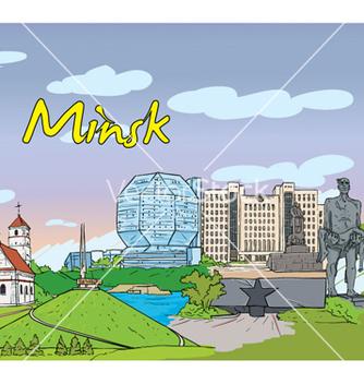 Free minsk doodles vector - Free vector #258997