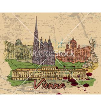Free vienna doodles vector - Kostenloses vector #259097