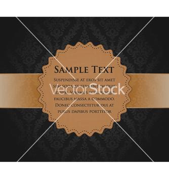 Free vintage label vector - Free vector #259297