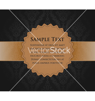 Free vintage label vector - бесплатный vector #259297