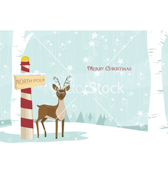 Free christmas greeting card vector - Free vector #259497