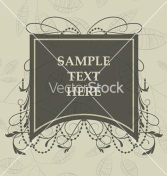 Free vintage label vector - Free vector #259527
