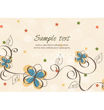 Free colorful floral vector - Free vector #260147