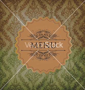 Free vintage menu vector - Free vector #260847