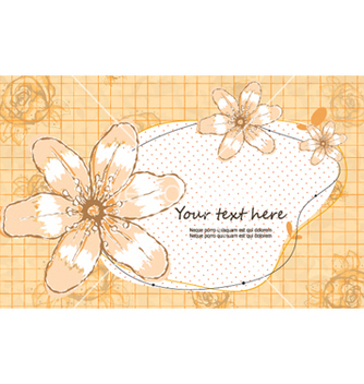Free colorful floral frame vector - Kostenloses vector #260907