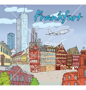 Free frankfurt doodles vector - Kostenloses vector #261587