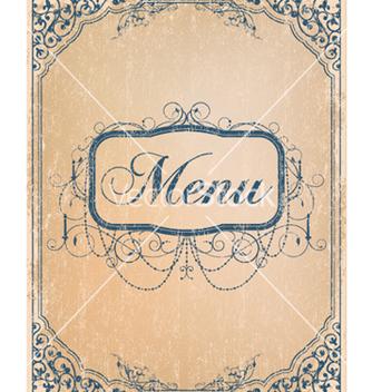 Free vintage restaurant menu vector - Kostenloses vector #261657