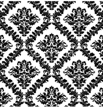 Free damask seamless pattern vector - Kostenloses vector #261697