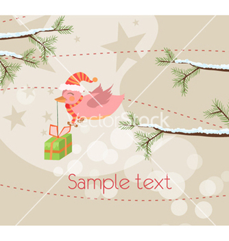 Free christmas background vector - vector #261777 gratis