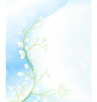 Free spring floral background vector - Kostenloses vector #261957