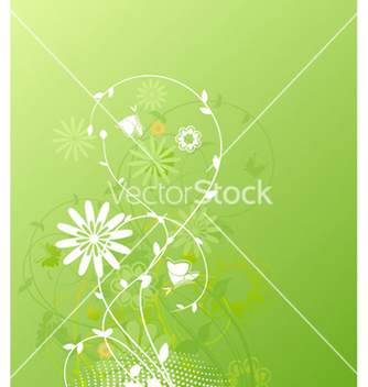 Free spring floral background vector - Free vector #262177