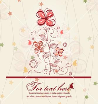 Free spring floral background vector - Kostenloses vector #262237