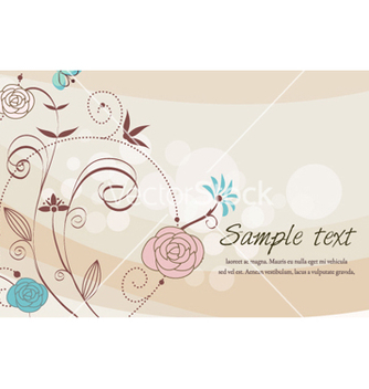 Free colorful floral vector - Free vector #262397