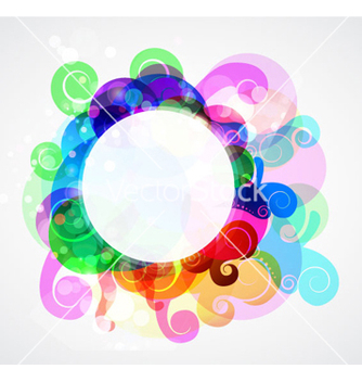 Free colorful abstract frame vector - Free vector #262687