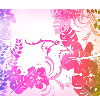 Free colorful summer background vector - Free vector #262727